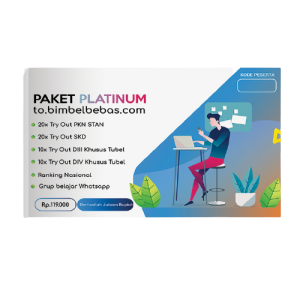 Paket Try Out USM PKN STAN Online Platinum